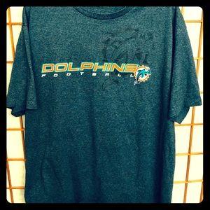 NWOT NFL Dolphins XL Drk Blue T-Shirt